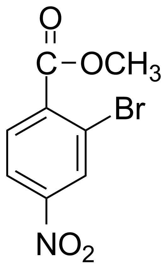 Structure of Methyl 2-bromo-4-nitrobenzoate