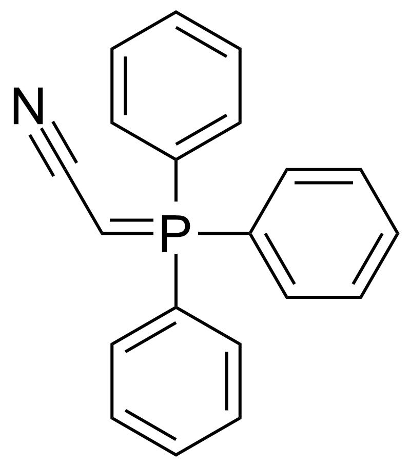 Structure of (Triphenylphosphoranylidene)acetonitrile