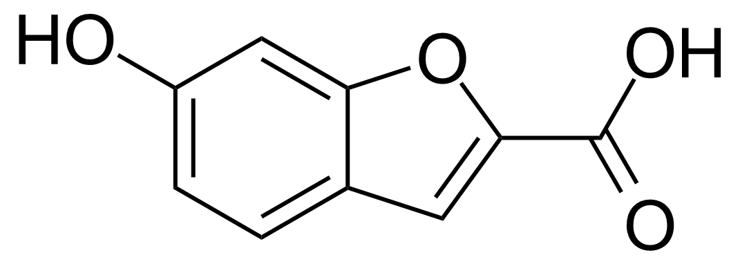 Structure of 6-Hydroxybenzofuran-2-carboxylic acid