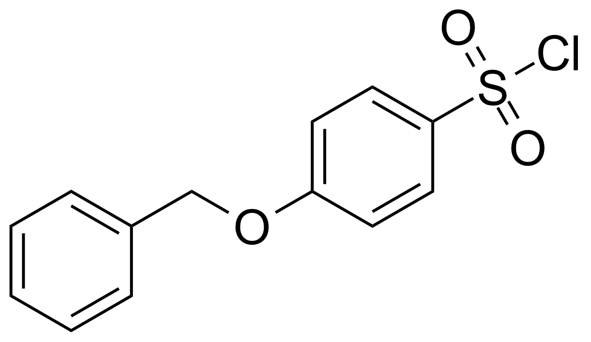 Structure of 4-Benzyloxybenzenesulfonyl chloride