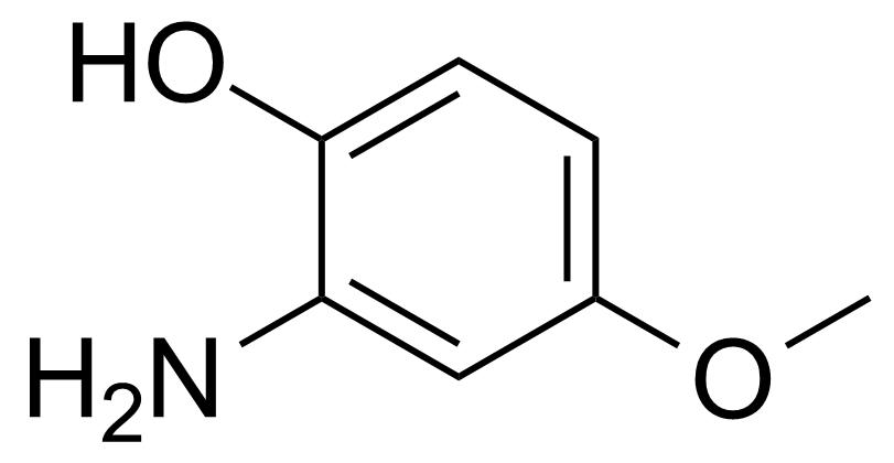 Structure of 2-Amino-4-methoxyphenol