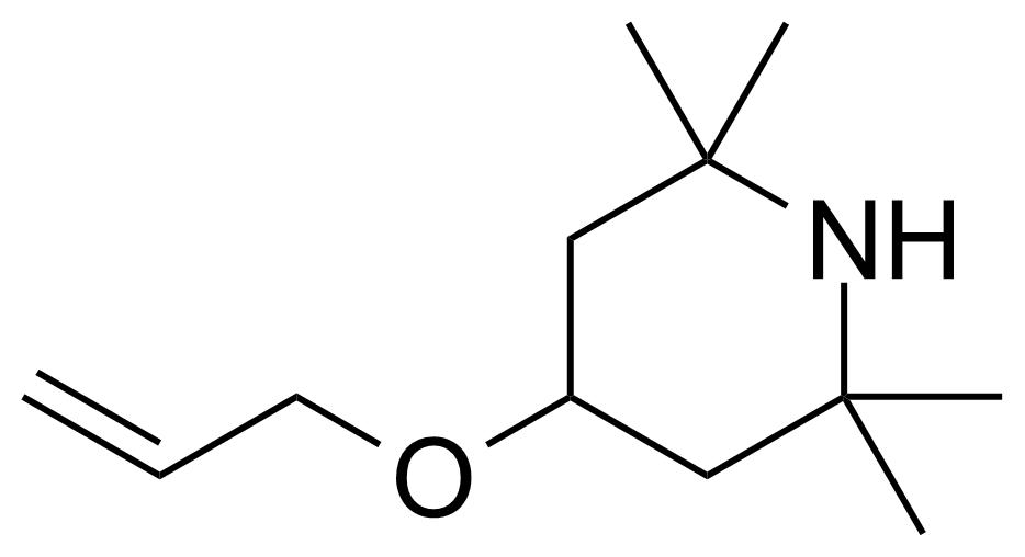 Structure of 4-Allyloxy 2,2,6,6-tetramethylpiperidine