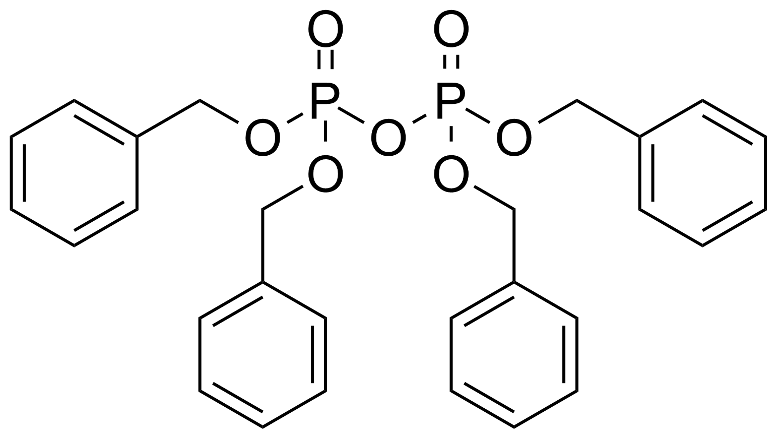 Structure of Tetrabenzyl pyrophosphate