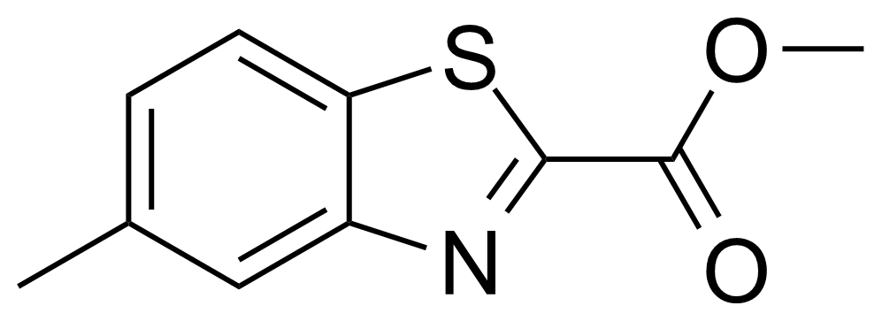 Structure of Methyl 5-methylbenzo[d]thiazole-2-carboxylate