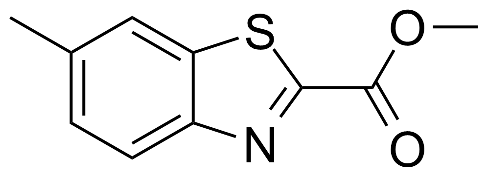 Structure of Methyl 6-methylbenzo[d]thiazole-2-carboxylate