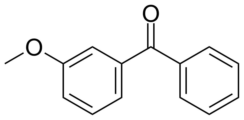 Structure of 3-Methoxybenzophenone