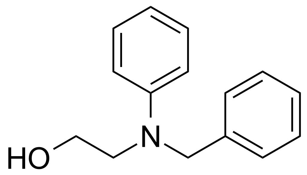 Structure of 2-[Phenyl(phenylmethyl)amino]ethanol
