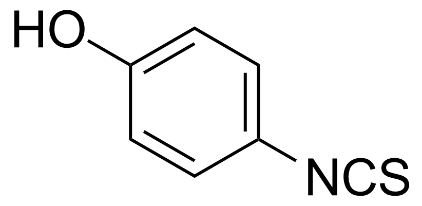 Structure of 4-Hydroxyphenyl isothiocyanate