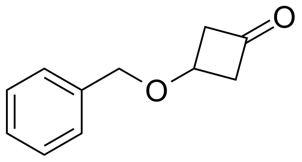 Structure of 3-(Benzyloxy)cyclobutanone