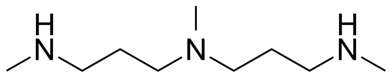 Structure of N,N-Bis[3-(methylamino)propyl]methylamine
