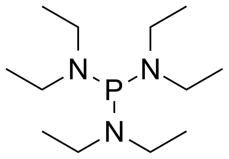 Structure of Tris(diethylamino)phosphine