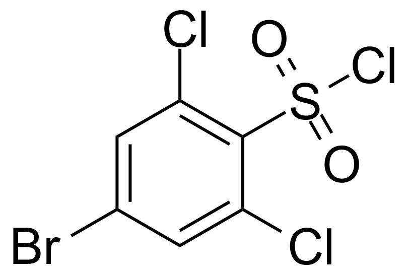 Structure of 4-Bromo-2,6-dichlorobenzenesulfonyl chloride