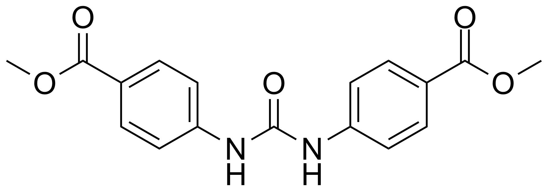 Structure of Methyl 4-[(4-methoxycarbonylphenyl)carbamoylamino]benzoate