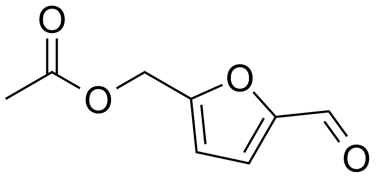 Structure of 5-Acetoxymethyl-2-furaldehyde