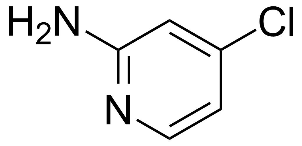 Structure of 2-Amino-4-chloropyridine