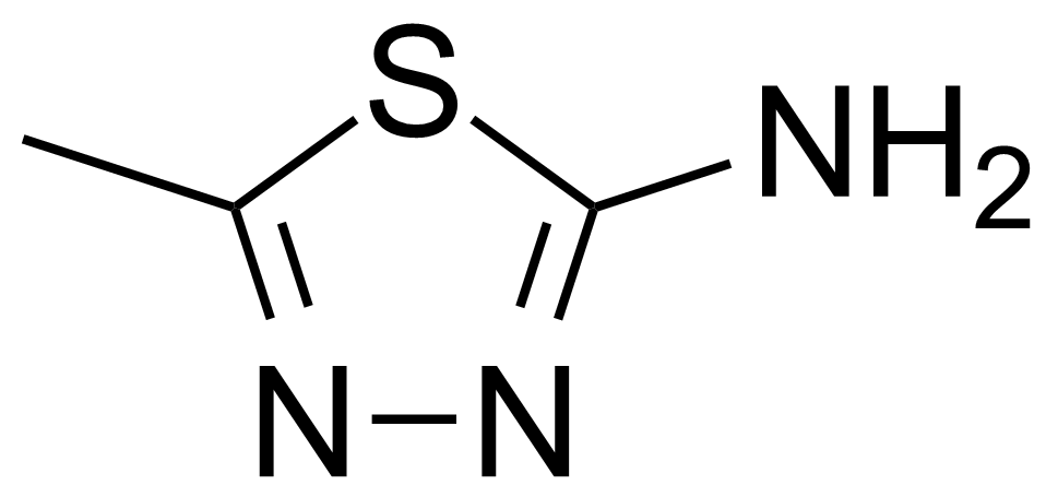 Structure of 2-Amino-5-methyl-1,3,4-thiadiazole