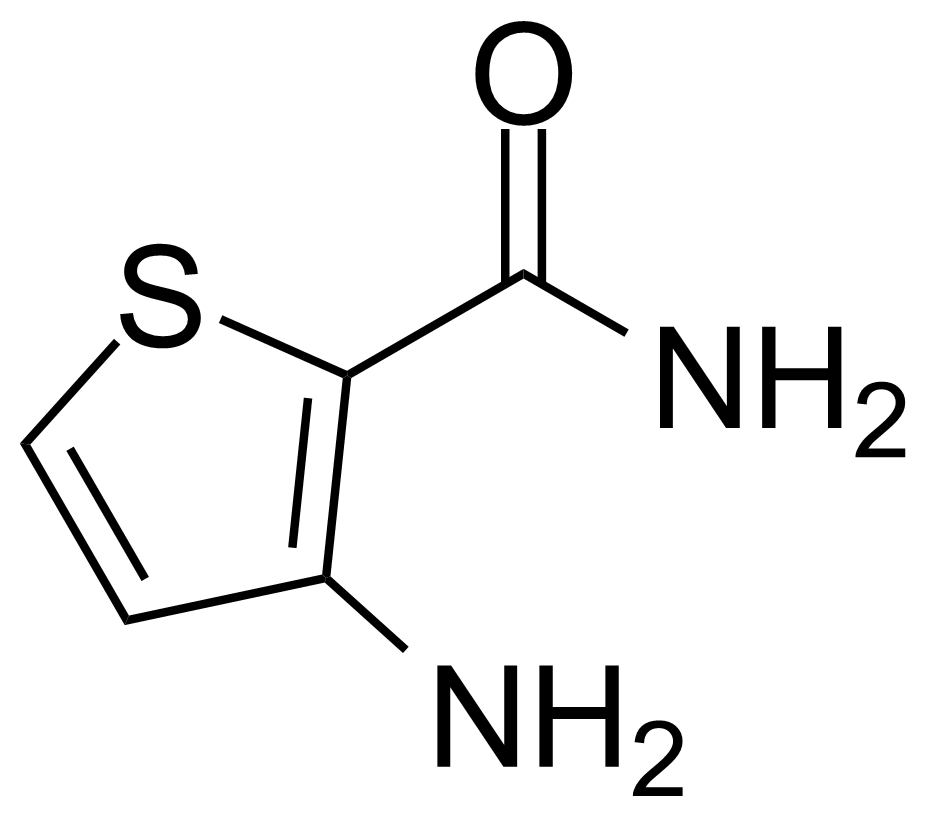 Structure of 3-Aminothiophene-2-carboxamide