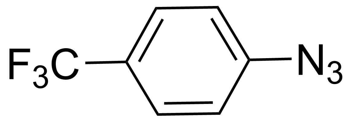 Structure of 1-Azido-4-(trifluoromethyl)benzene