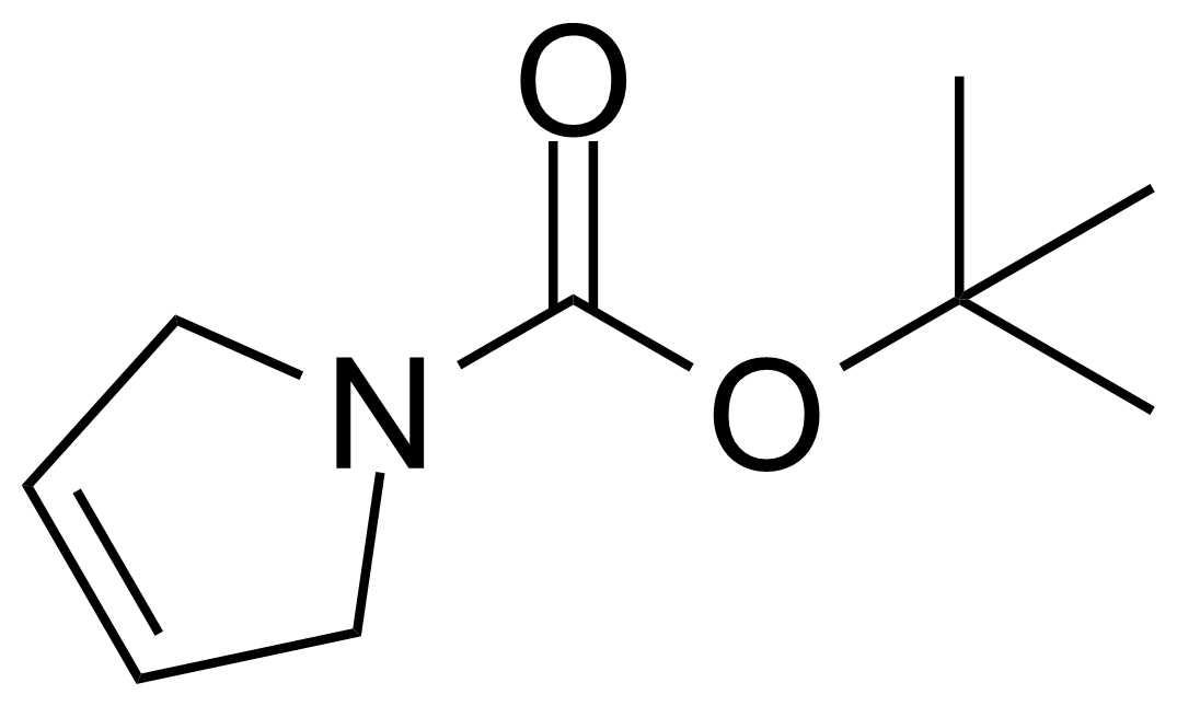 Structure of N-Boc-2,5-dihydro-1H-pyrrole