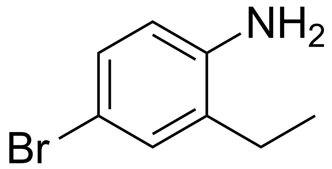 Structure of 4-Bromo-2-ethylaniline