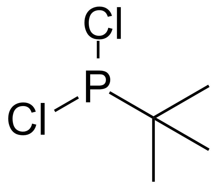 Structure of tert-Butyldichlorophosphine