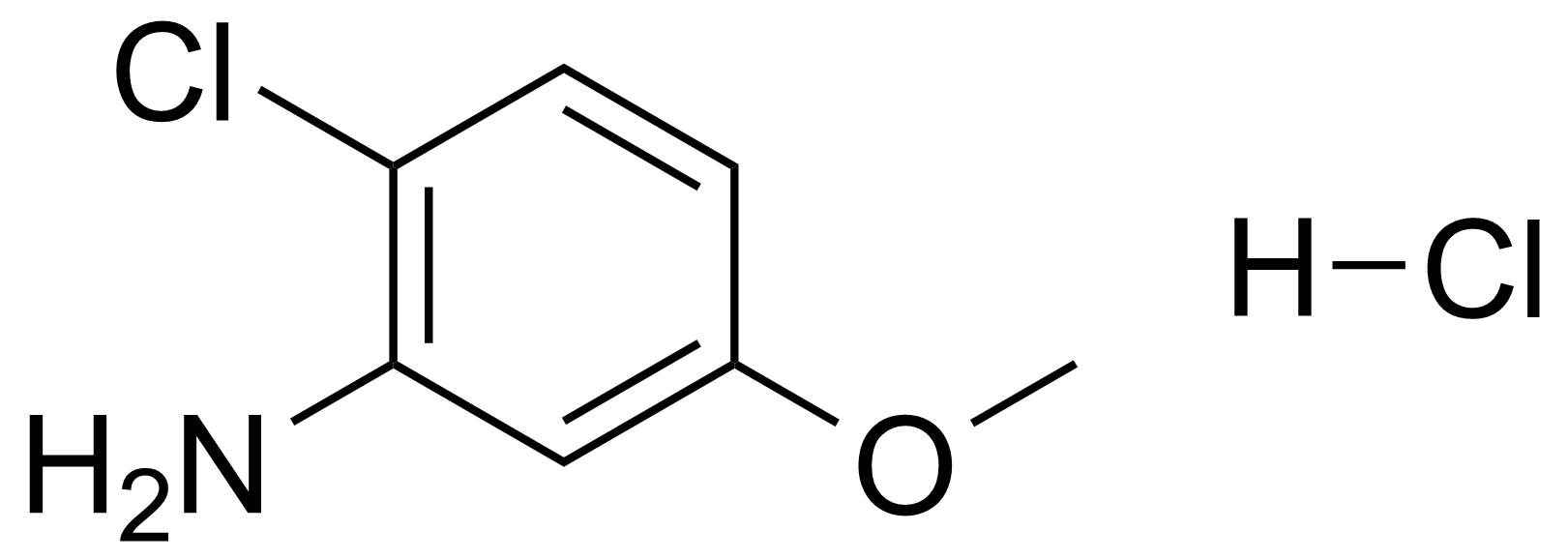 Structure of 6-Chloro-m-anisidine hydrochloride