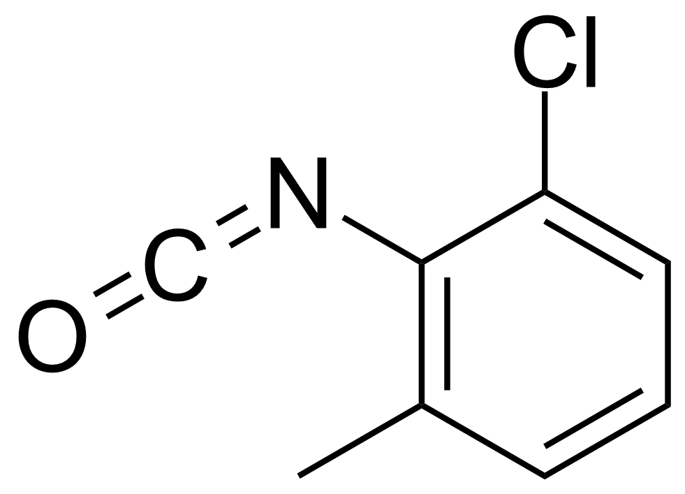 Structure of 2-Chloro-6-methylphenyl isocyanate