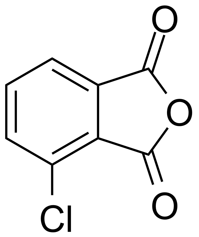 Structure of 3-Chlorophthalic acid anhydride