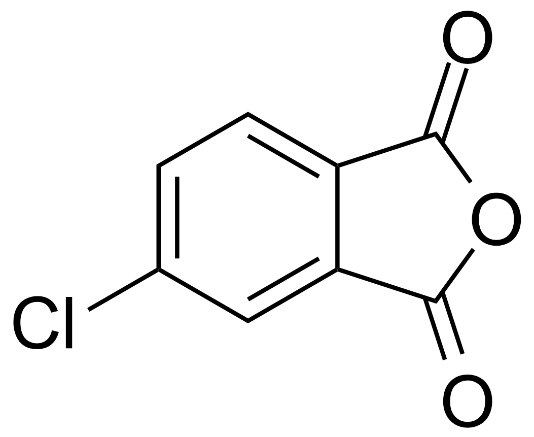 Structure of 4-Chlorophthalic acid anhydride