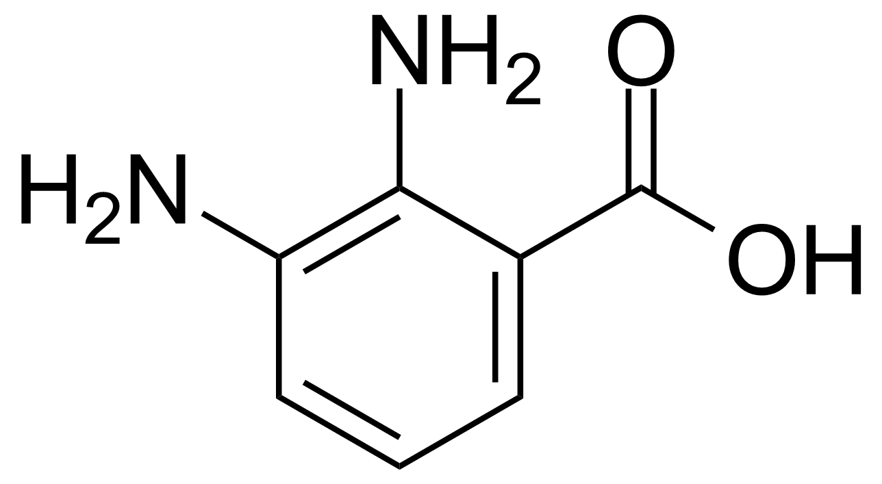 Structure of 2,3-Diaminobenzoic acid