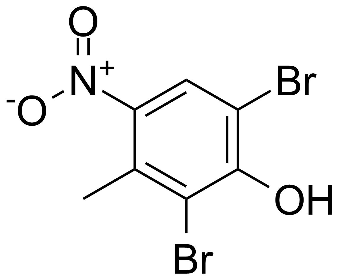 Structure of 2,6-Dibromo-3-methyl-4-nitrophenol