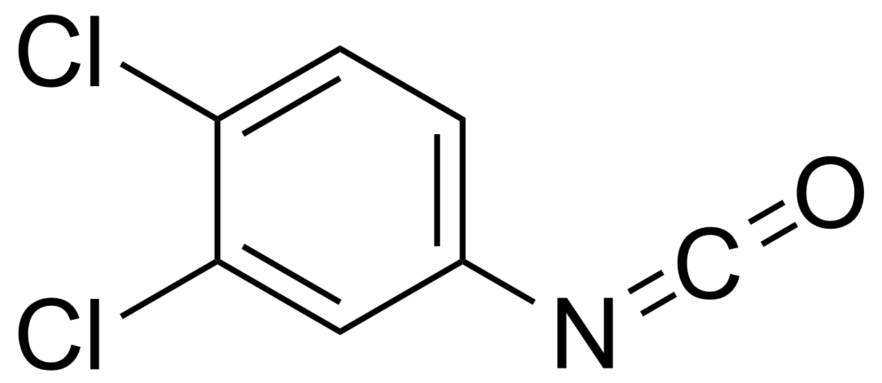 Structure of 3,4-Dichlorophenyl isocyanate