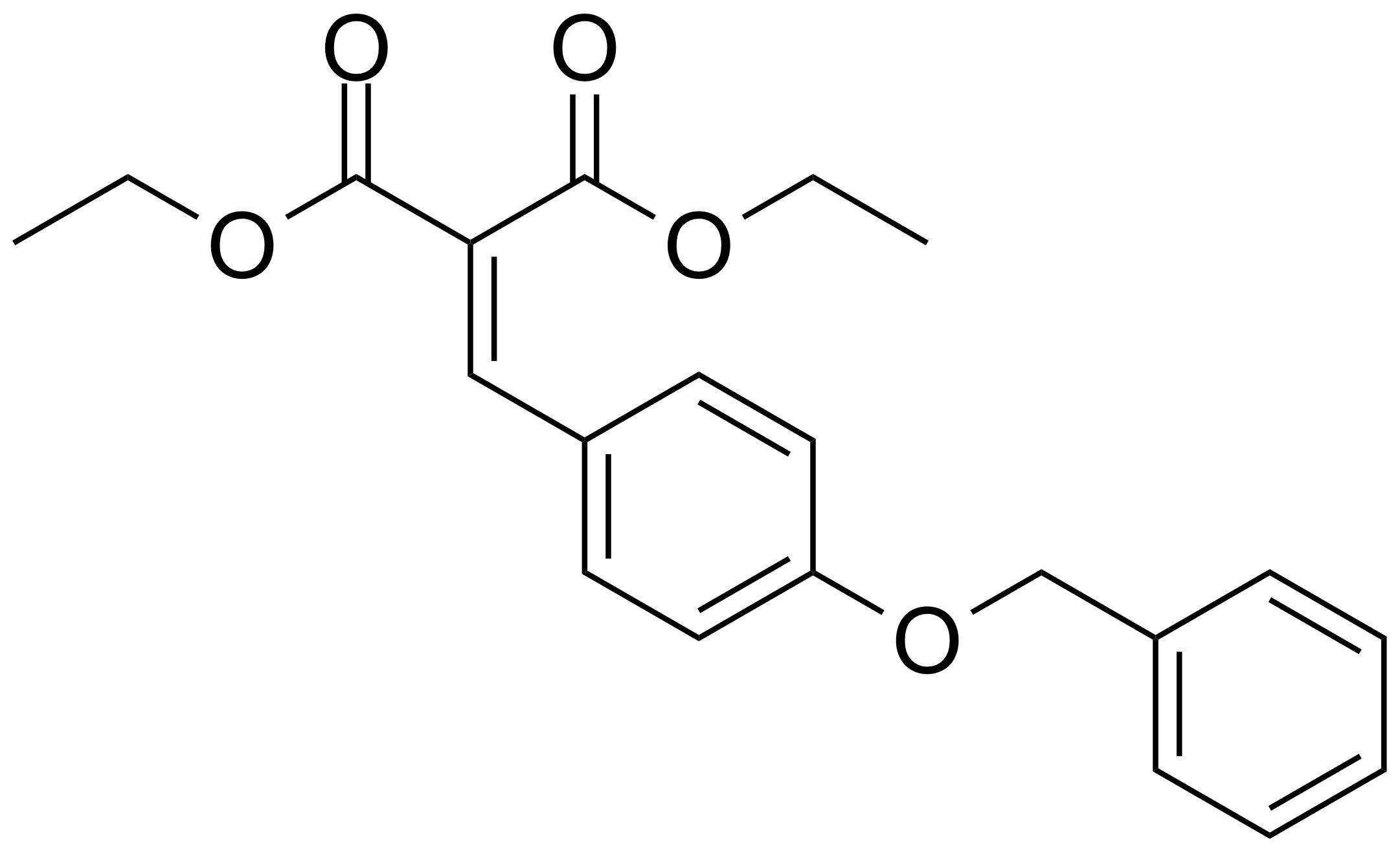 Structure of Diethyl 2-[4-(benzyloxy)benzylidene]malonate
