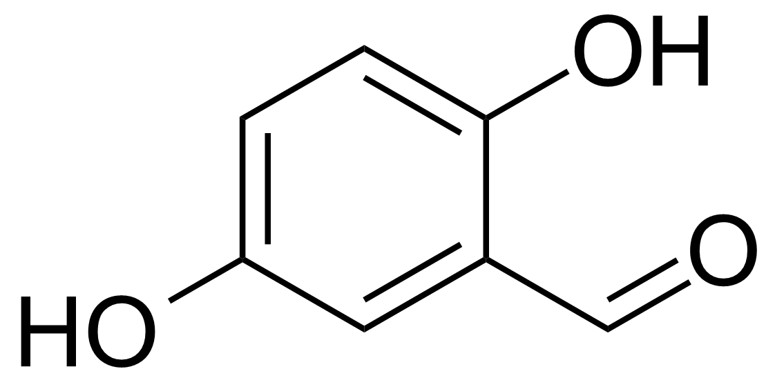 Structure of 2,5-Dihydroxybenzaldehyde