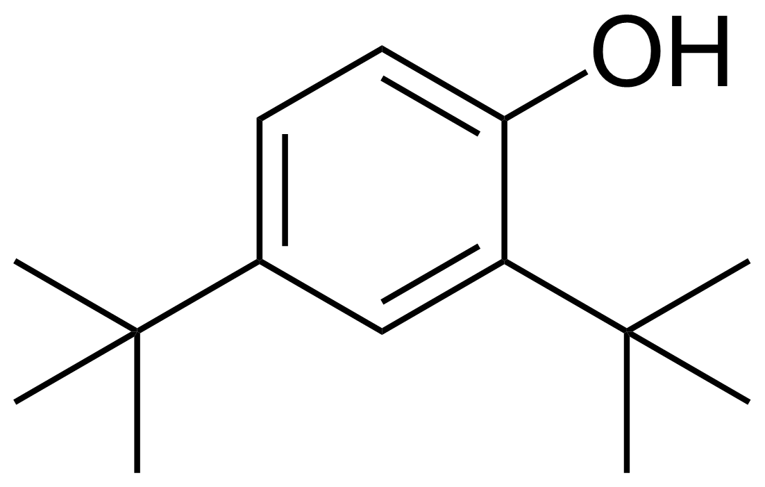 Structure of 2,4-Di-tert-butylphenol