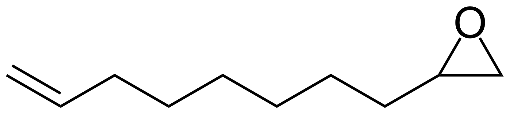 Structure of 1,2-Epoxy-9-decene