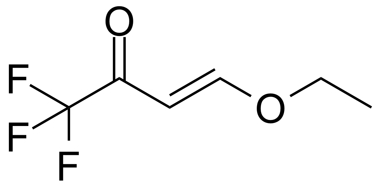 Structure of 4-Ethoxy-1,1,1-trifluoro-3-buten-2-one