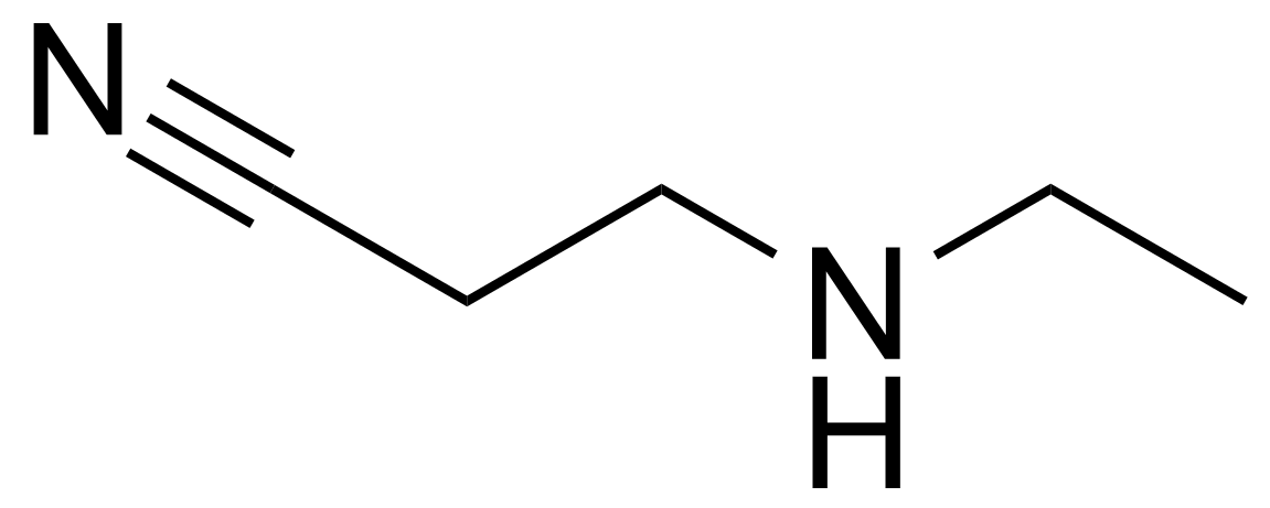Structure of 3-(Ethylamino)propionitrile