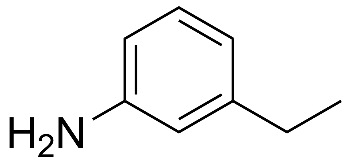 Structure of 3-Ethylaniline
