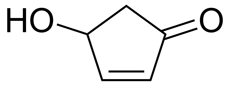 Structure of 4-Hydroxy-2-cyclopentenone