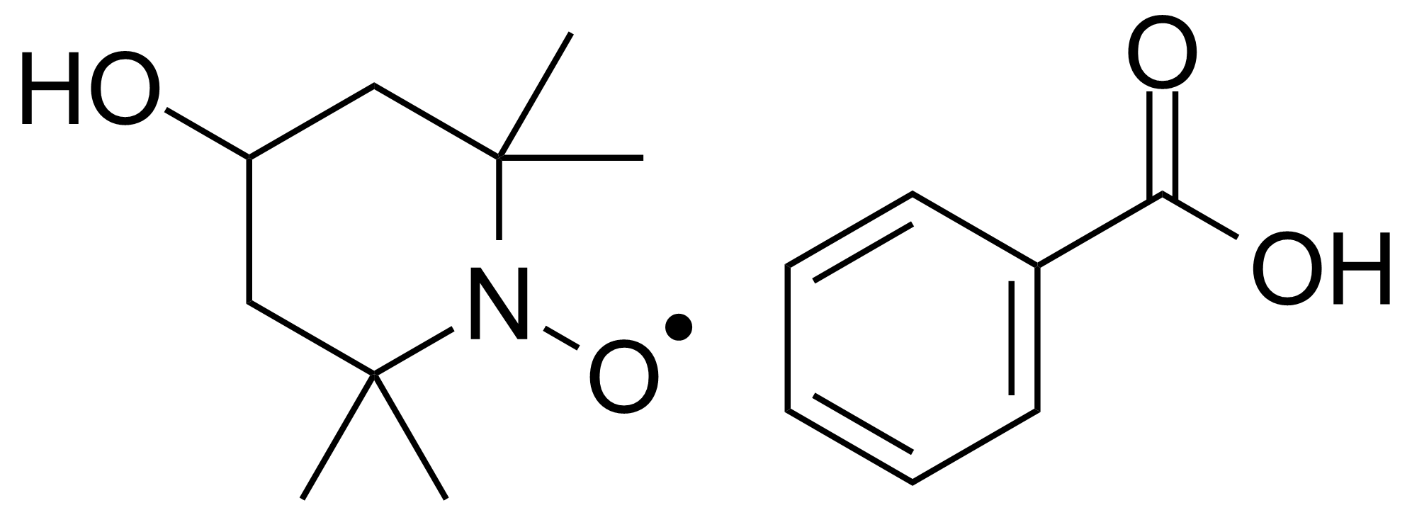 Structure of 4-Hydroxy-TEMPO-benzoate