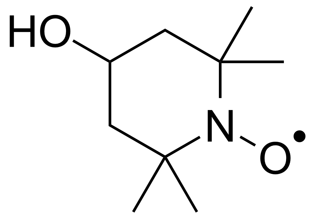 Structure of 4-Hydroxy-2,2,6,6-tetramethylpiperidinyloxy