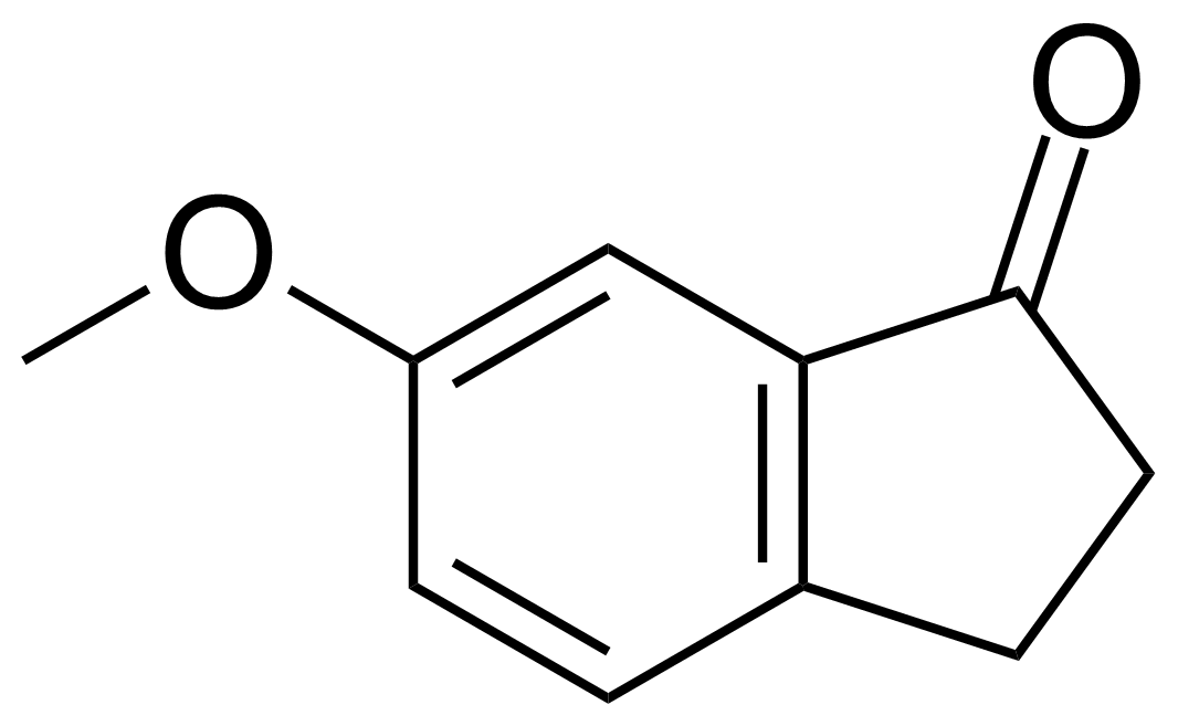 Structure of 6-Methoxy-1-indanone