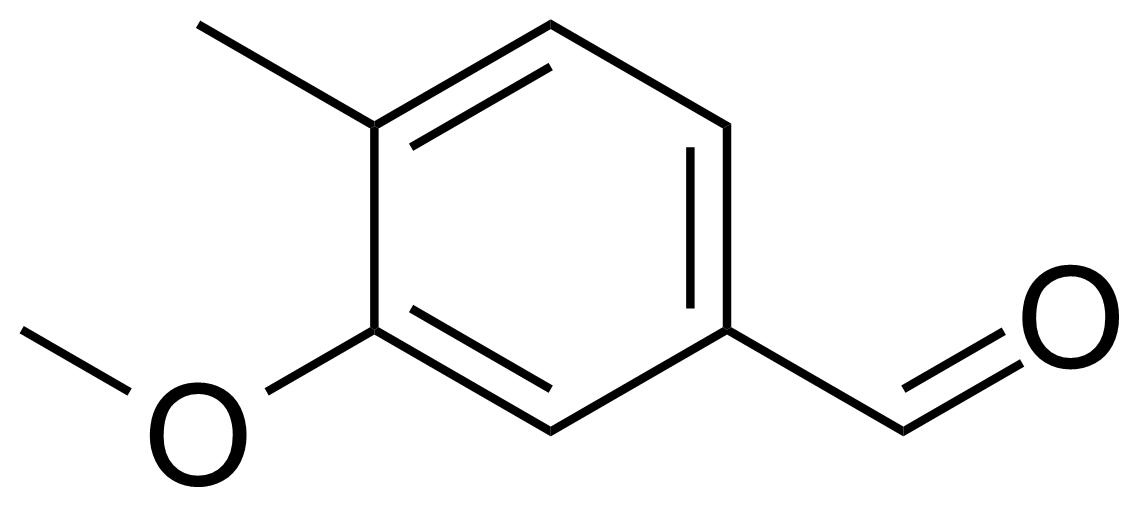 Structure of 3-Methoxy-4-methylbenzaldehyde