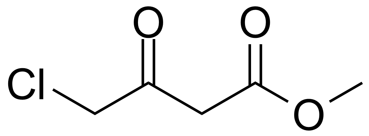 Structure of Methyl 4-chloroacetoacetate