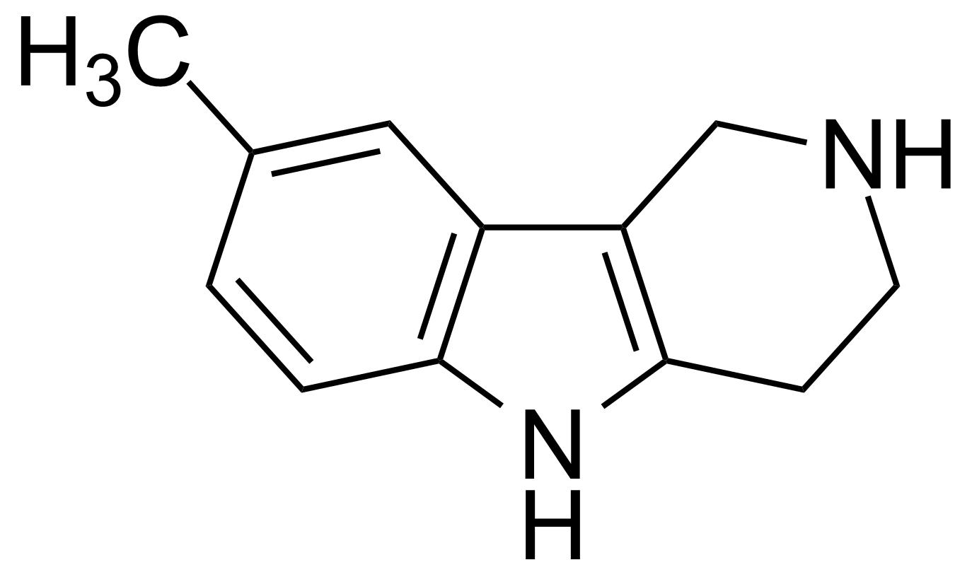 Structure of 8-Methyl-1,2,3,4-tetrahydro-1H-pyrido[4,3-b]indole