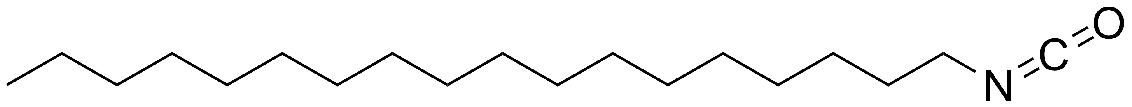 Structure of 1-Octadecyl isocyanate