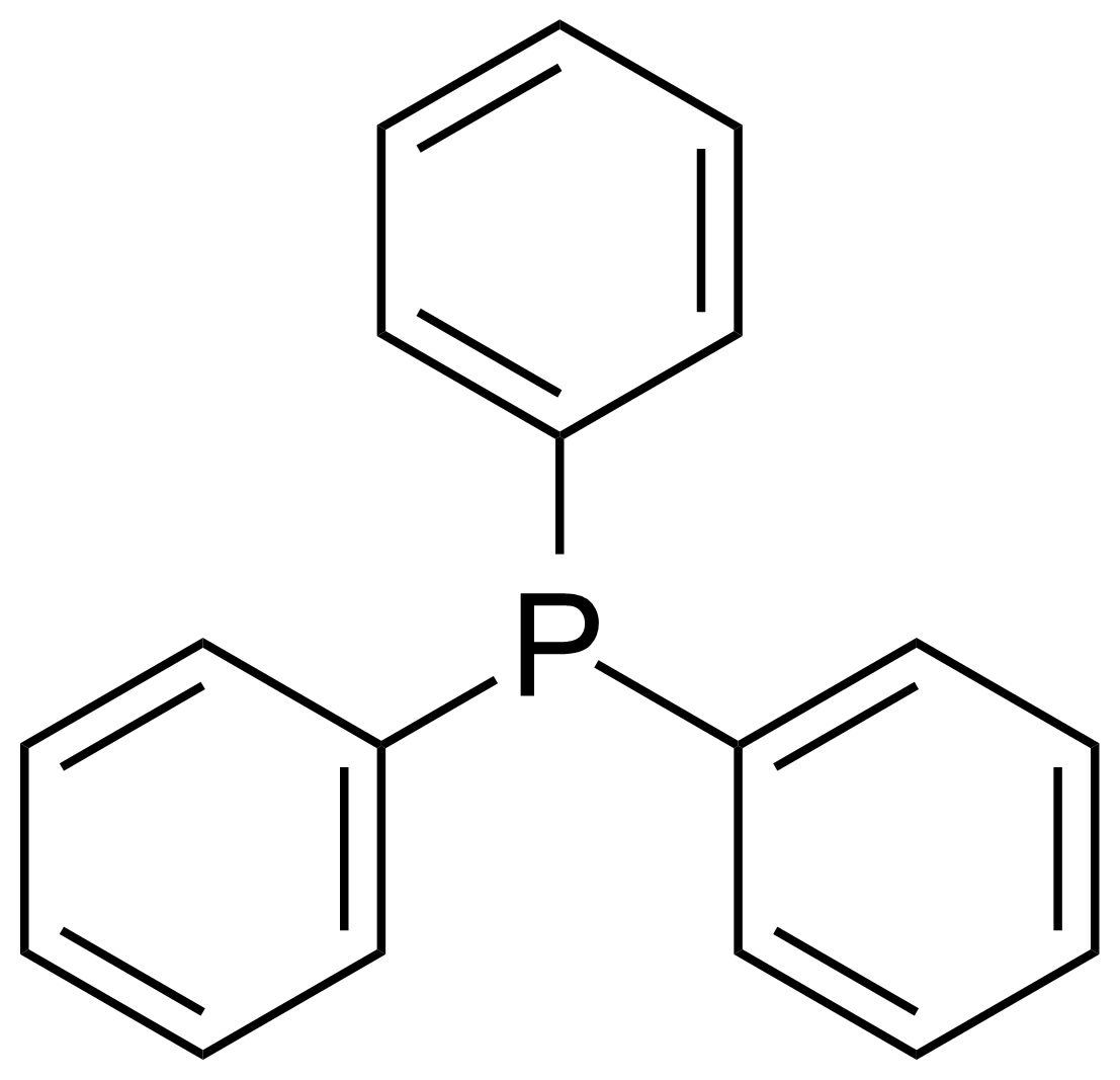 Structure of Triphenylphosphine