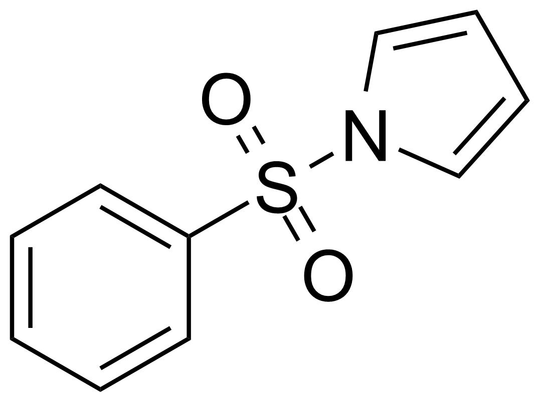 Structure of 1-(Phenylsulfonyl)pyrrole