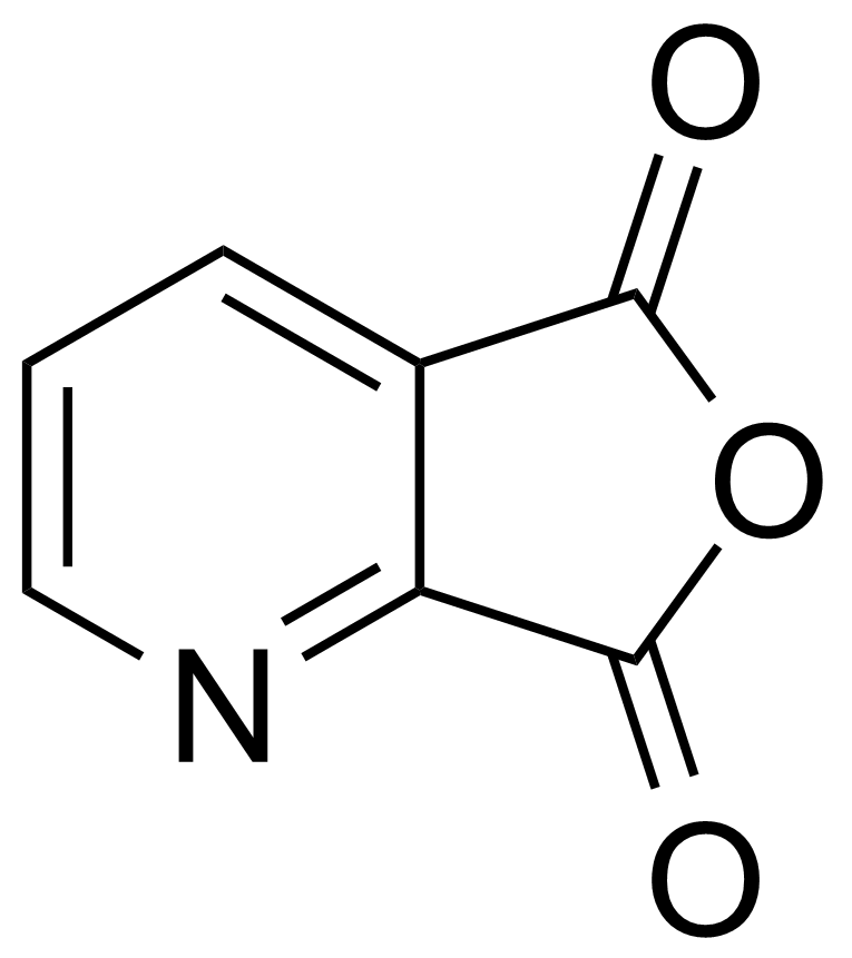 Structure of 2,3-Pyridinedicarboxylic anhydride